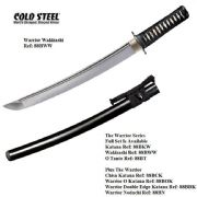Warrior Wakizashi With Black High Gloss Scabbard (Saya)